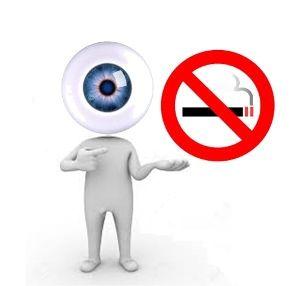 La prohibición de fumar protege la vista