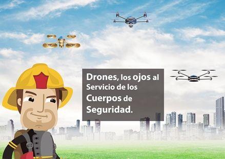 Drones, los ojos al servicio de los cuerpos de seguridad.